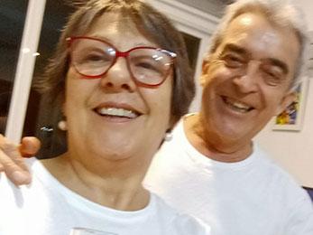 Elias Muñoz e Julia Vallade