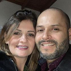 Loiva Giane Bloch, Fabio Gomes