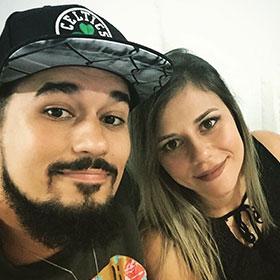 Bruno Bell e Jessica Lima