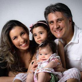 Fernanda Ribeiro e Emerson Klimach